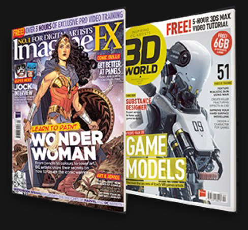 ImagineFX and 3D World Magazines